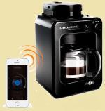 Умная кофеварка Redmond RCM-M1505S Ready for Sky с управлением со смартфона, встр. кофемолка